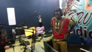 Bra kwao interview @K W radio..