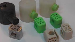 moulages apres l'impression 3D
