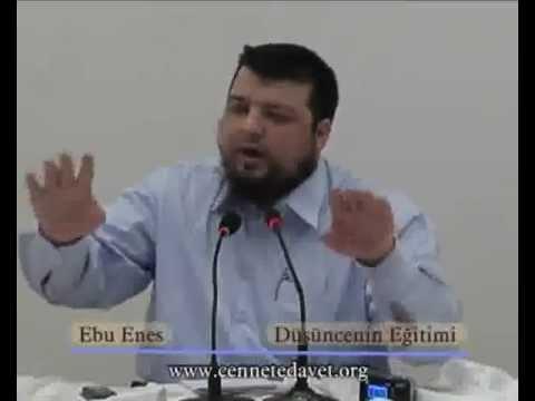 Doğru Düşünmek ve sıhhatlı düşünen müslüman - Ebu Enes