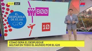G20: así será el despliegue militar alrededor del mundo