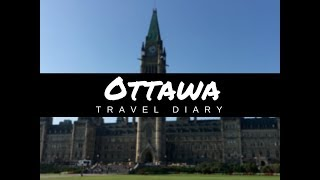 Walking from Ontario to Quebec | Ottawa Travel Diary