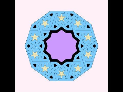 伊斯蘭的幾何拼貼 20