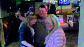 Tj drunk dancing.