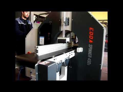 EDDA Spinner 450 s Profil Pervaz Streçleme Makinesi
