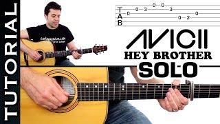 guitarra Hey Brother AVICII Solo de guitarra Tutorial muy fácil