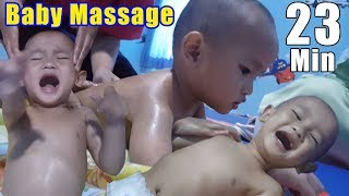 Cara Pijat Bayi Seluruh Badan | Baby Massage Full Body Massage