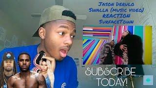 Jason Derulo Swalla (feat. Nicki Minaj & Ty Dolla $ign) (music video REACTION) #SurfaceTown