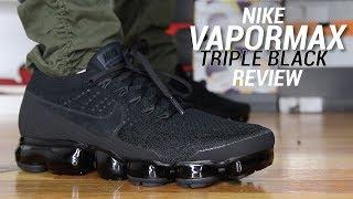 NIKE VAPORMAX TRIPLE BLACK 3.0 REVIEW