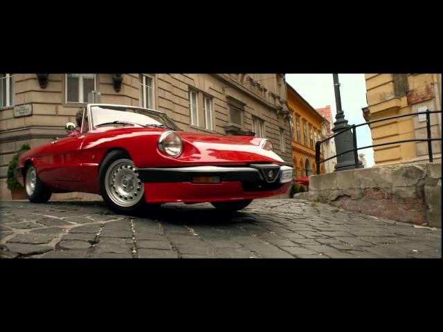 Alfa Romeo Spider '83 Ride - Spy movie