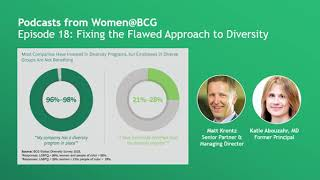 Fixing Flawed Approach to Diversity @bcg