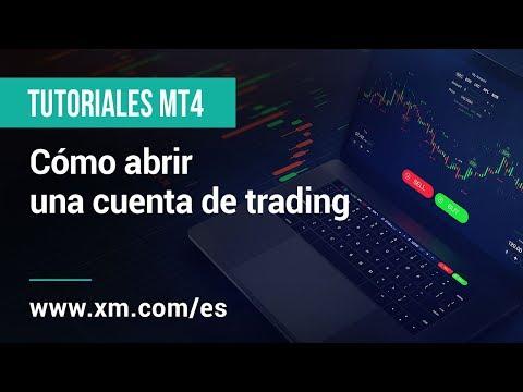 Un video tutorial completo sobre cómo abrir una cuenta MT4 con XM.COM