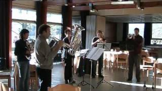 Blechbläserquintett Ruhrblech: G.F. Händel, La Rejouissance from the Royal Fireworks
