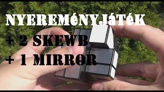 MofangJiaoshi Skewb + X-man Konkáv Mágneses Skewb + QiYi Mirror Bemutató [www.lightake.com]