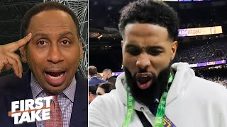 Stephen A. refuses to defend Odell Beckham Jr.: 'I'm completely annoyed with him' | First Take
