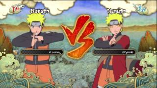 NUNS3 Combo To Ulti Tutorials! - Naruto Sage Mode!