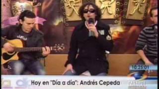 Si fueras mi enemigo (Andrés Cepeda canta en vivo para Día a Día)