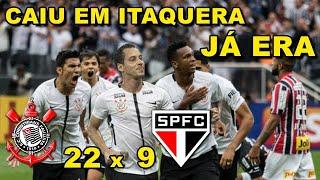 Corinthians 22 x 9 São Paulo - Todos os gols do clássico na Arena Corinthians