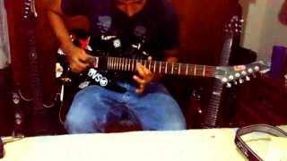 HEXEN - BLAST RADIUS (guitar cover)