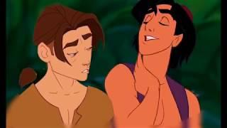 Give me Love- Jim/Aladdin (Disney Crossover)