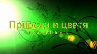 nature and flowers intro