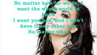 Made In The Usa Demi Lovato Lyrics On Screen