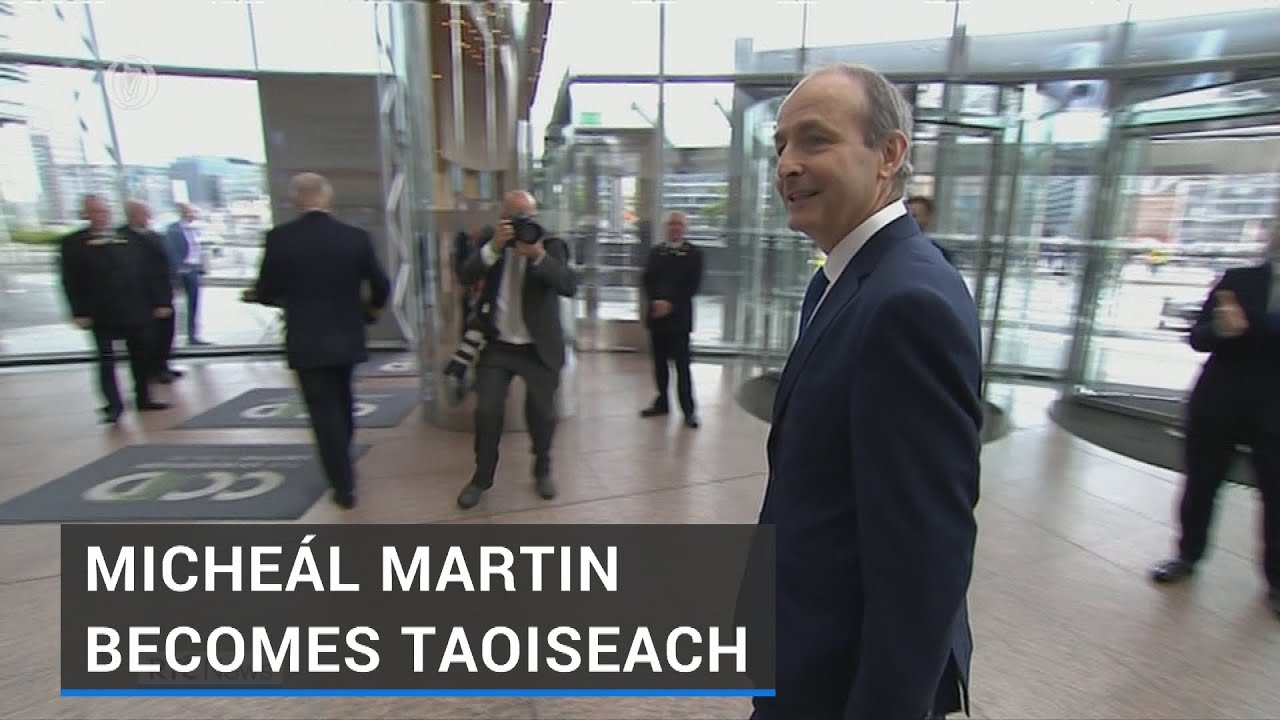 Landmark Day for Irish Politics as Micheál Martin becomes 15th Taoiseach