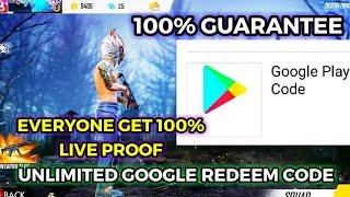 How to get google play code and redeem it with proof new