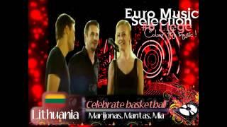 "EMS 6 - LITHUANIA - Marijonas, Mantas, Mia - ""Celebrate Basketball"""