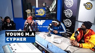 Young M.A & Red Lyfe - Funk Flex Freestyle