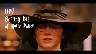 DIY Harry Potter Mcgonagalle's hat
