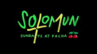 The first Minute of the Solomun +1 Season 2013 at Pacha Ibiza