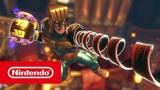 ARMS - Conoce a Max Brass (Nintendo Switch)