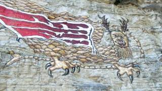 The Piasa Bird on the Bluffs near Alton IL - Folklore and Myths