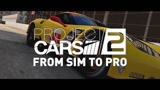 """Project CARS 2 – BUILT BY DRIVERS Episode 3: """"From Sim to Pro"""" feat. Corvette Racing's Tommy Milner"""