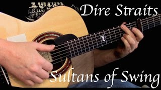 Dire Straits - Sultans of Swing - Fingerstyle Guitar