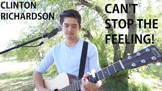 Can't Stop The Feeling! (Acoustic Live LOOP Cover) - Justin Timberlake (Clinton Richardson)