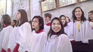 "SG Chapel Choir performing ""Over My Head"""