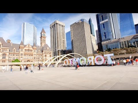 Toronto city - Virtual Tour 4k