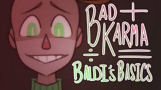 bad karma // baldi's basics meme