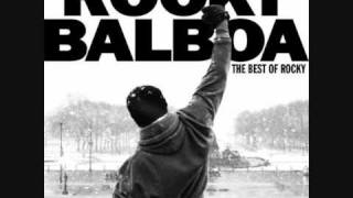 Rocky 6 ft Bill Conti ( alone in the ring)