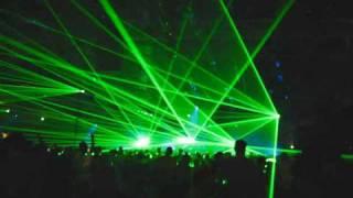 Fausto @ TE2009. Laser show. Part 2