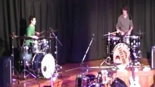 Drum duet - Thomas and Hayden