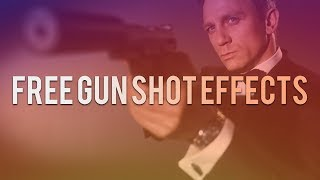 REAL FREE Gun Shot Effects -  Sound Effects, Muzzle Flashes and Smoke!