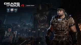 """Gears of War 4: """"Official August Update Trailer"""""""