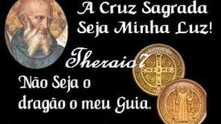 FORTE ORAÇÃO A SÃO BENTO (voz)  # 3347-theraio7 todos