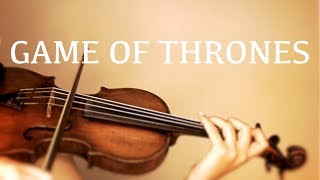 Game of Thrones Theme on violin (COVER)