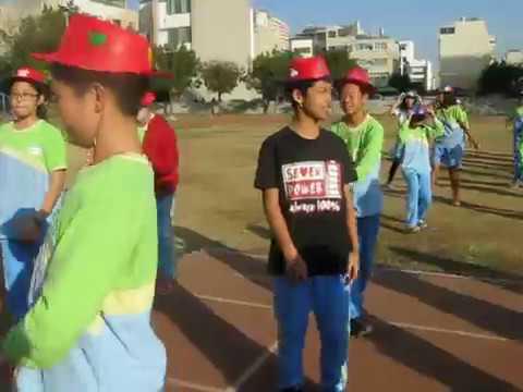 臺南市東區裕文國小七七努力巧克力1207進場舞練習 - YouTube