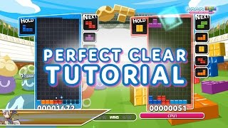 Puyo Puyo Tetris: Perfect Clear Tutorial
