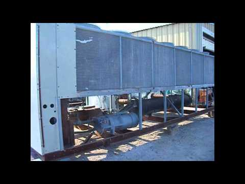 Genemco's Used 1991 Trane Air Cooled Liquid Chiller- 200 Ton