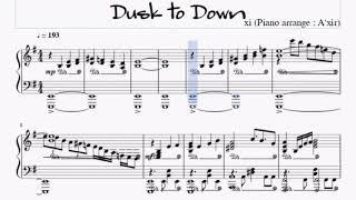 【Deemo】Dusk to Dawn/xi[piano]